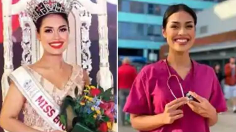 miss england bhasha mukherjee comes back to doctor profession during corona pandemic