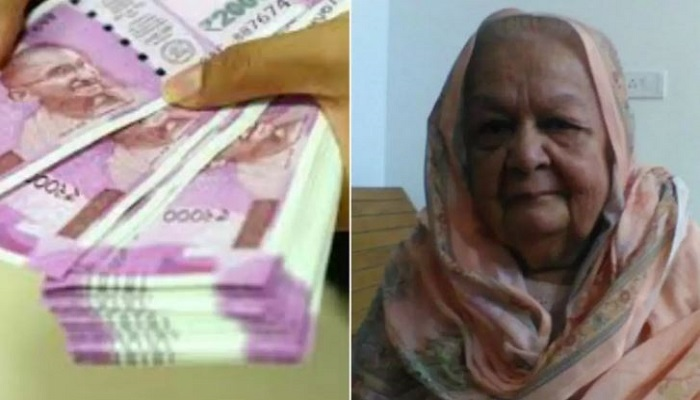 muslim dadi khalida begum donates haj money for corona relief fund