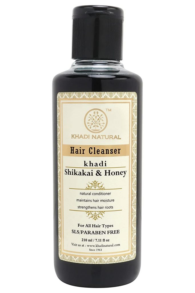 Khadi Herbal Ayurvedic Shikakai Honey Hair Cleanser