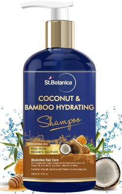 StBotanica Coconut Oil & Bamboo Hair Strengthening Shampoo