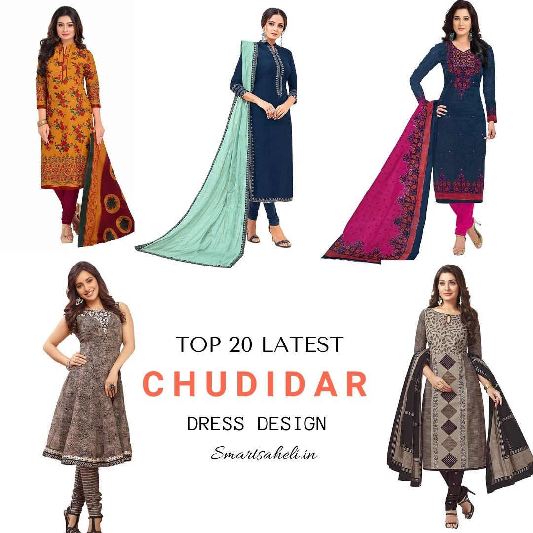 Top 20 Latest Chudidar Dress Design