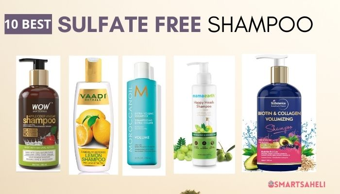 Best 10 Sulfate Free Shampoo in India