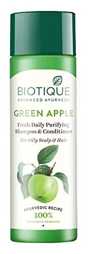 Biotique Bio Green Apple Fresh Daily Purifying Shampoo And Conditioner