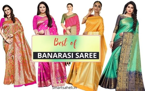 Best Banarasi Saree for Bengali Marriage with Price