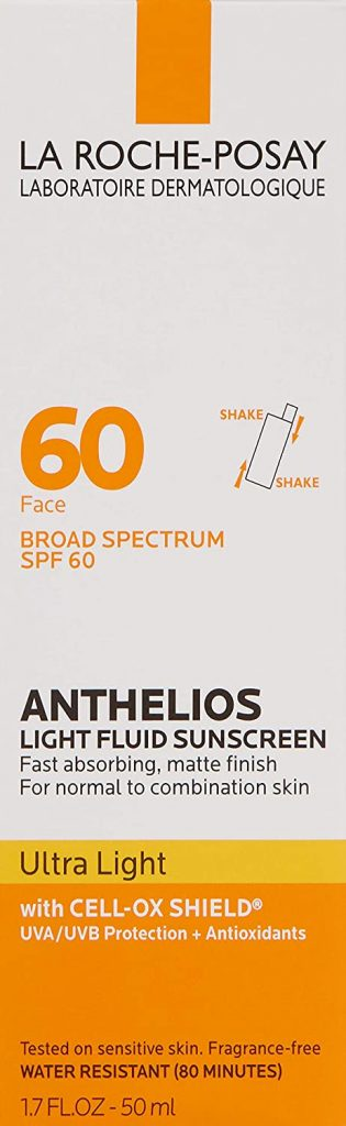 Fluid Face Sunscreen Broad Spectrum SPF 60