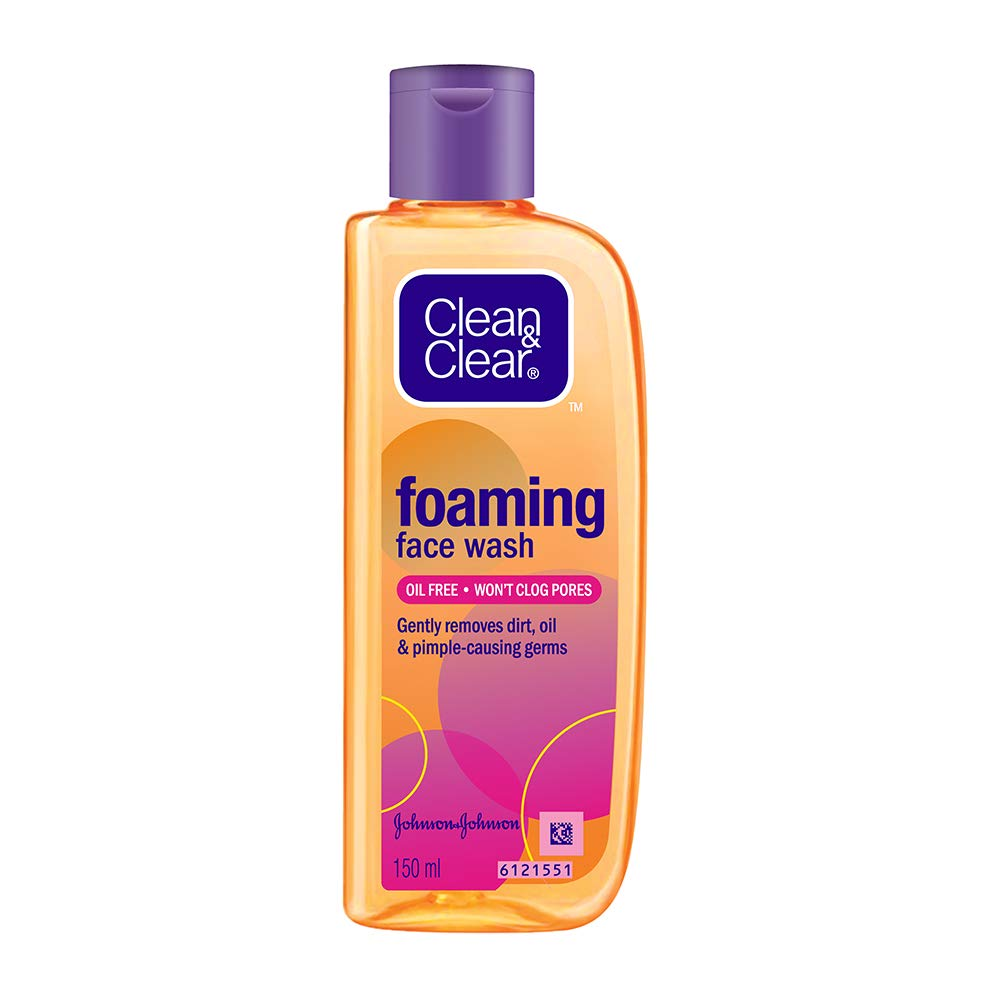 Clean & Clear Foaming Face Wash For Oily Skin