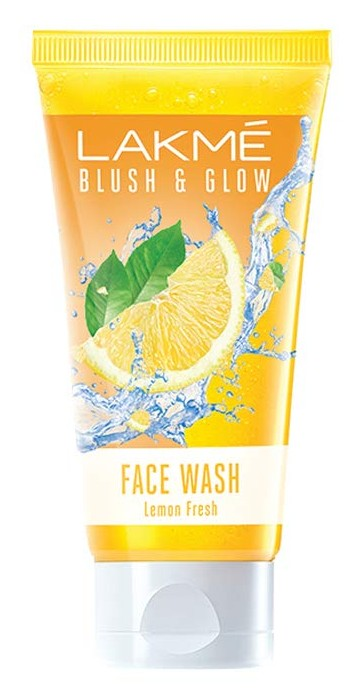 Lakmé Blush & Glow Facewash, Lemon Fresh