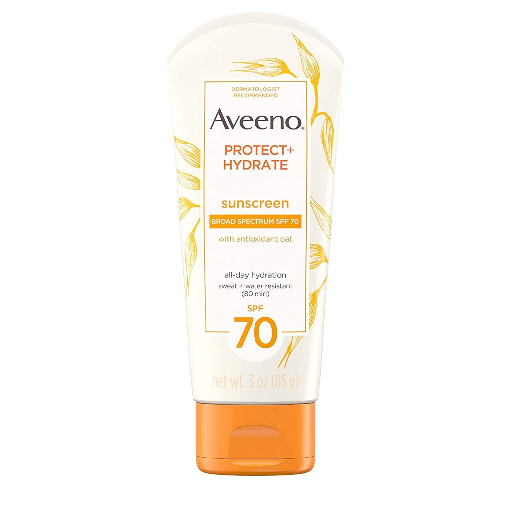 Moisturizing Sunscreen Lotion with Broad Spectrum SPF 70