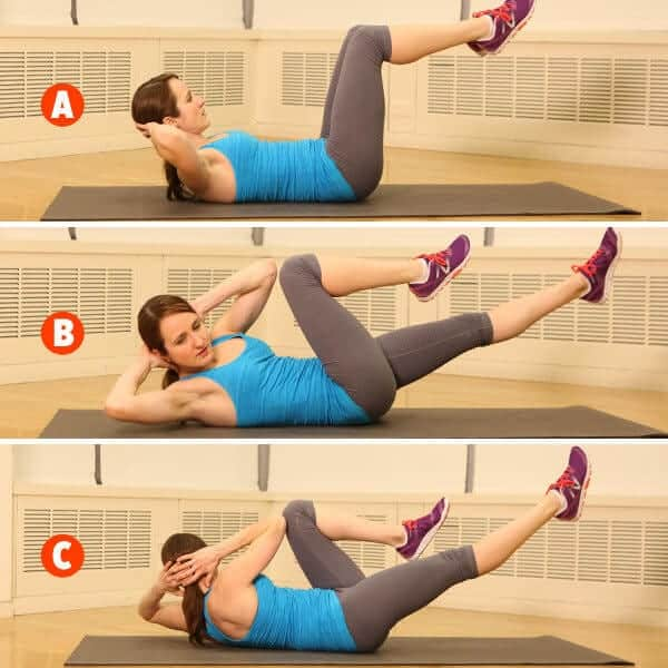 Bicycle Abdominal Exercise