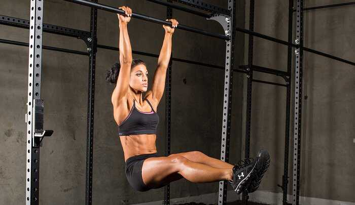 Hanging leg raise Exercise to Reduce Belly Fat